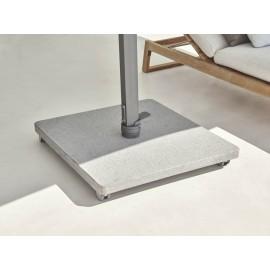 base Antego granite silk grey martelé